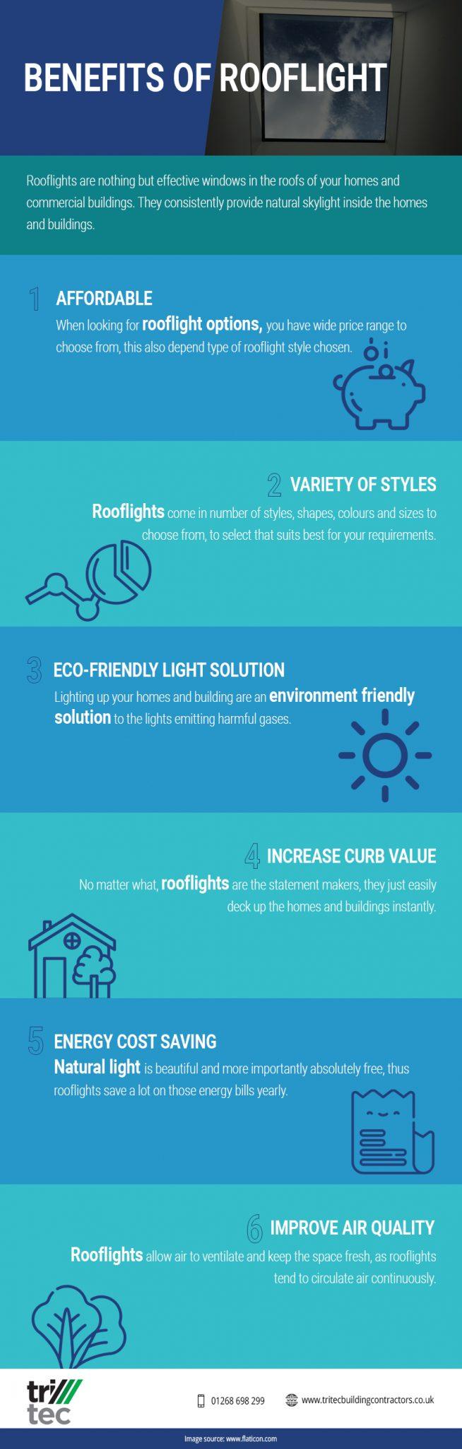 benefits of rooflight