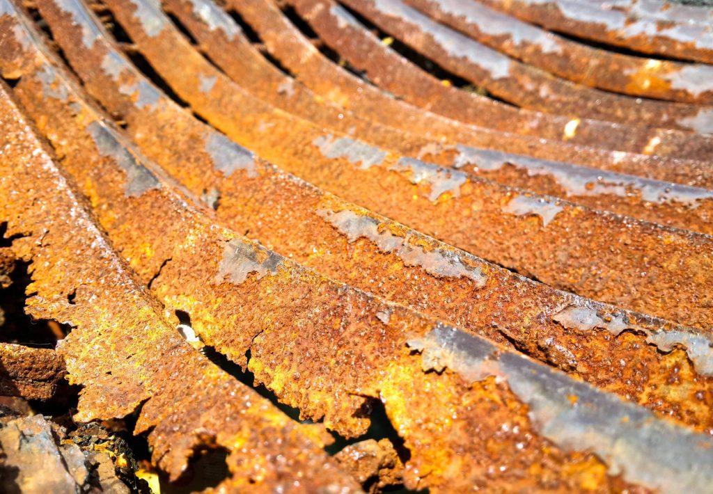 Rust Sheet Metal Roof