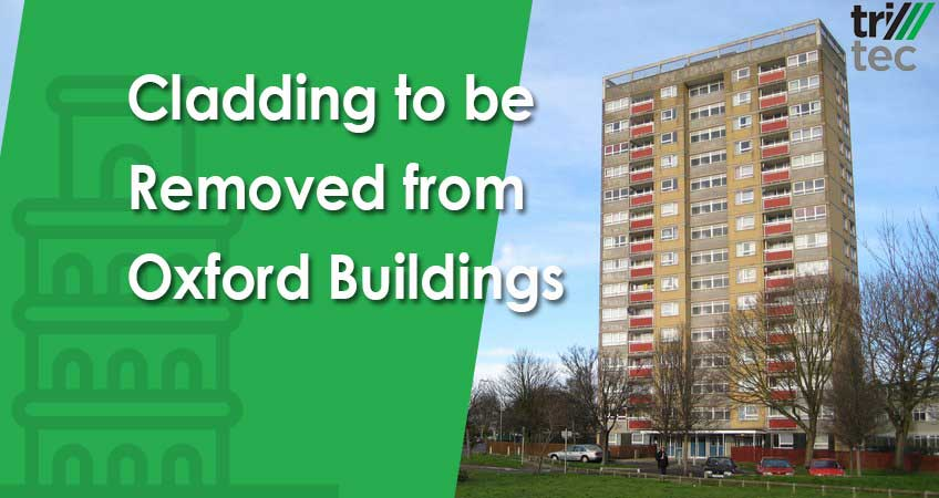 Cladding to be Removed from Oxford Buildings