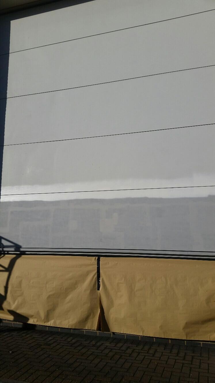 Hayes Bridge Retail Park Composite Metal Wall Panels Repair