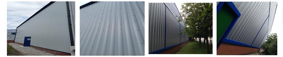 metal cladding sheet replacement wall cladding sheet