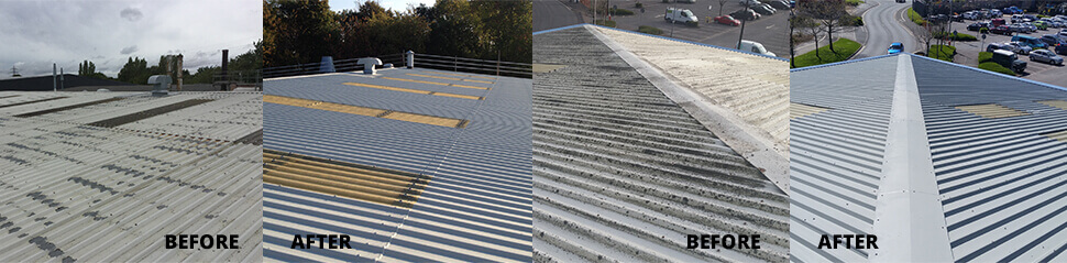 Giromax Architectural Delcote Roof Coating